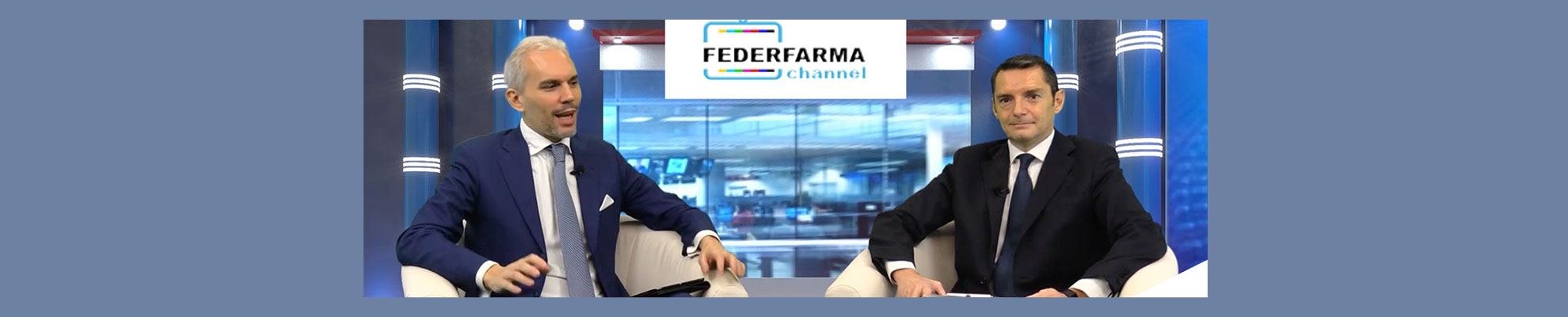 Luca Crippa intervista Federfarma Channel