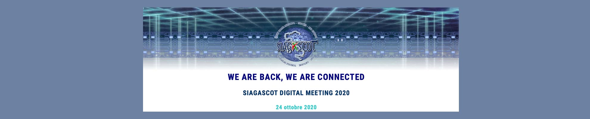 IBSA main sponsor D-Meeting SIAGASCOT